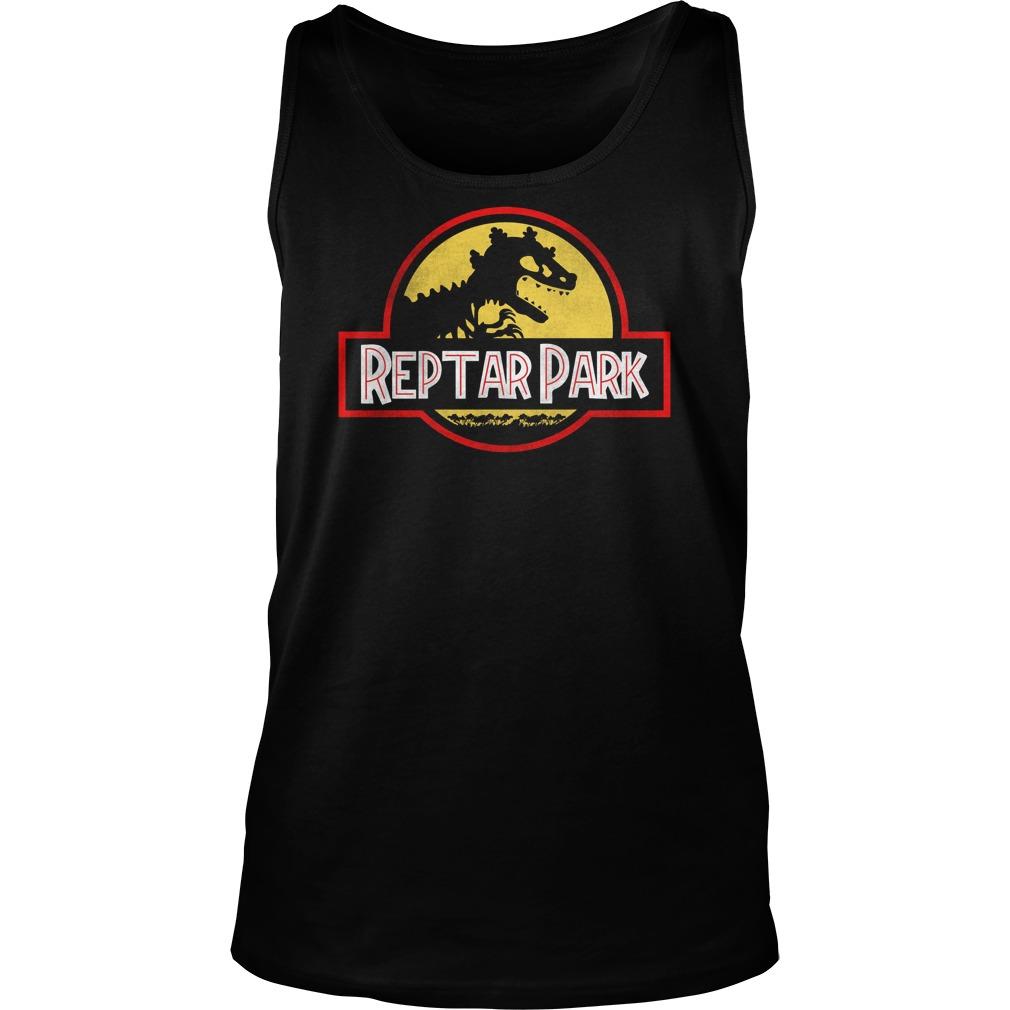 Jurassic Reptar Park Tank Top