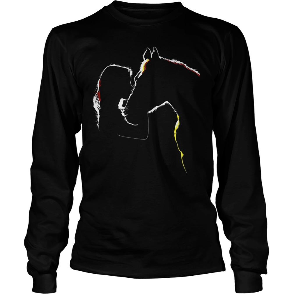 Ladies Horse Related Longsleeve