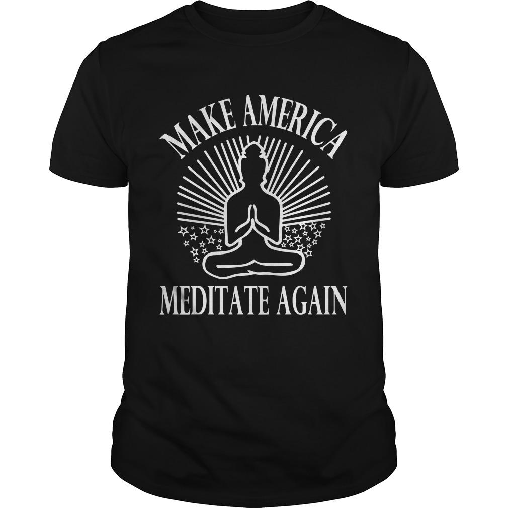 Make America Meditate Guys Tee