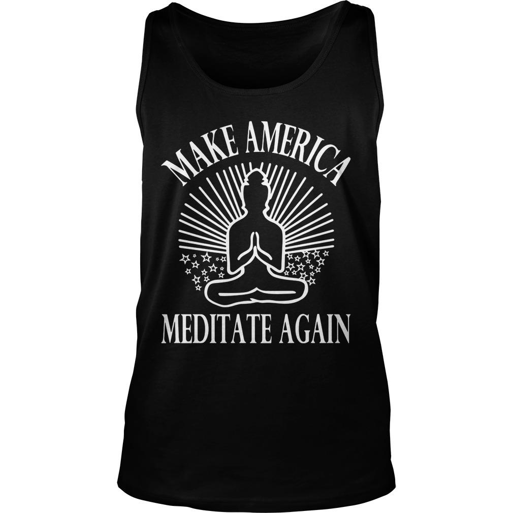 Make America Meditate Tank Top