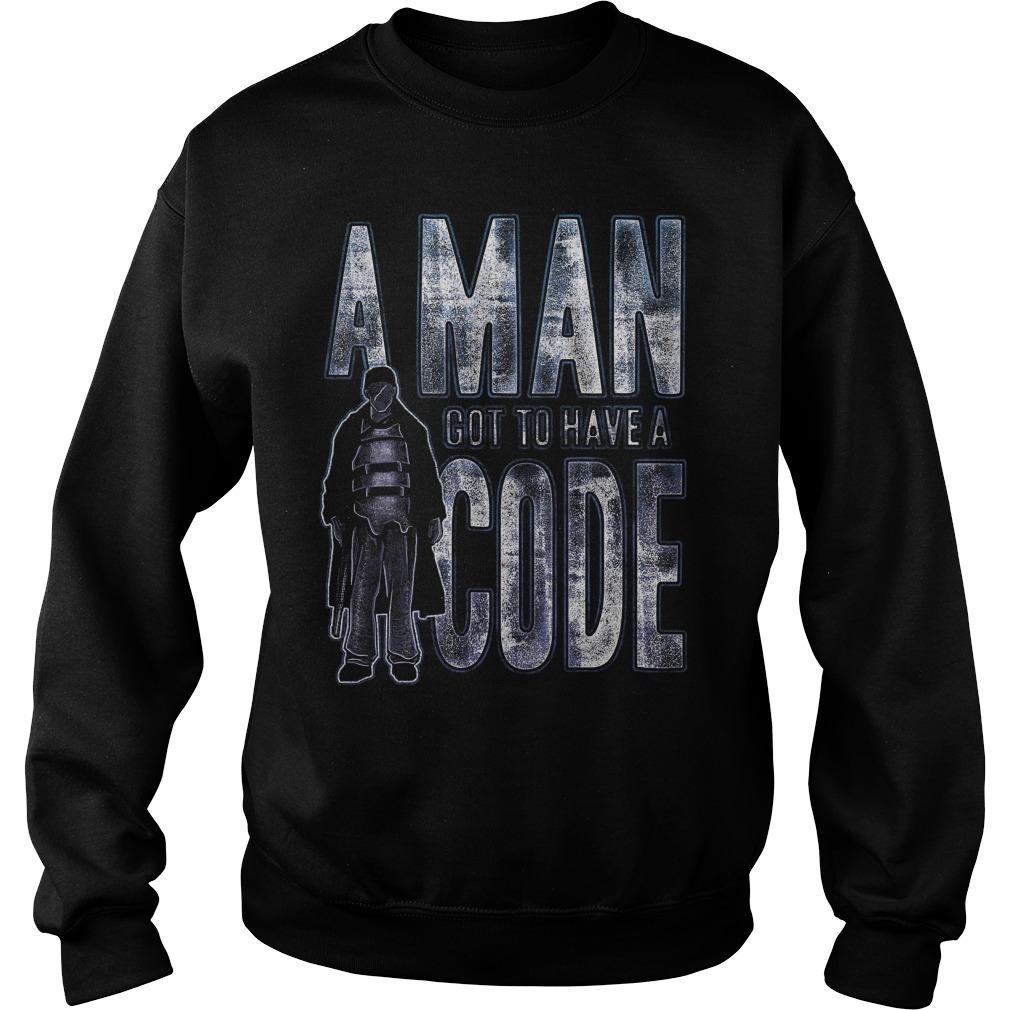 Man Got Code Sweat Shirt