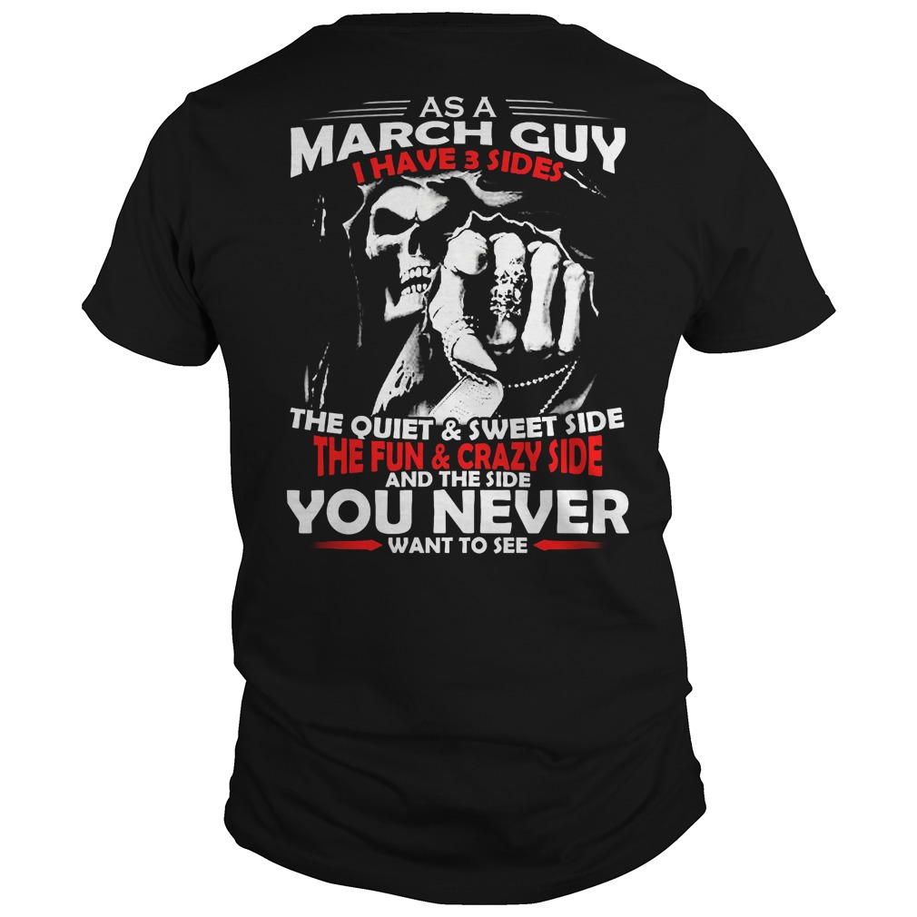 March Guy 3 Sides Guys Tee