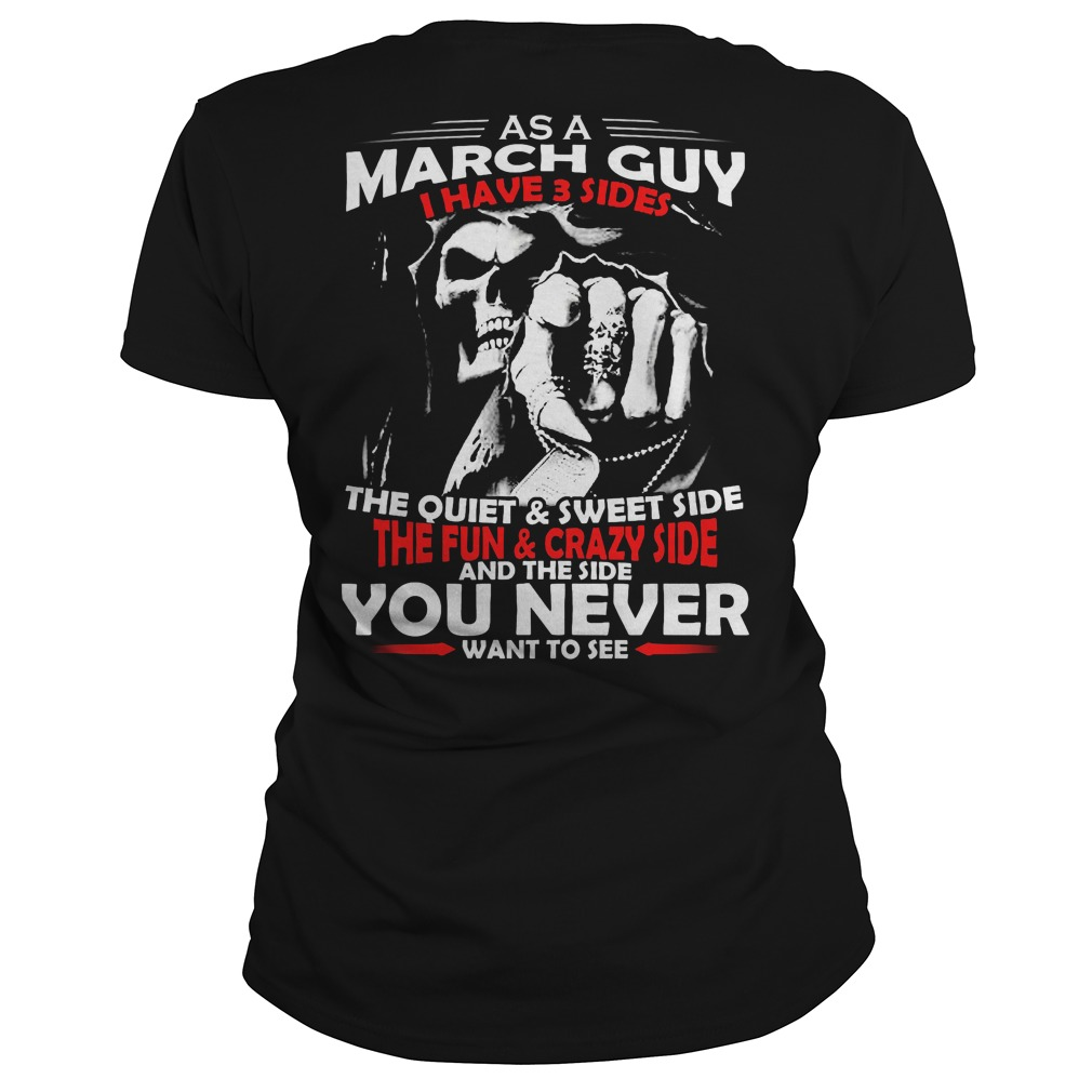 March Guy 3 Sides Ladies Tee