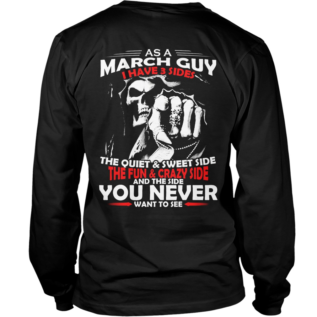 March Guy 3 Sides Unisex Longsleeve Tee