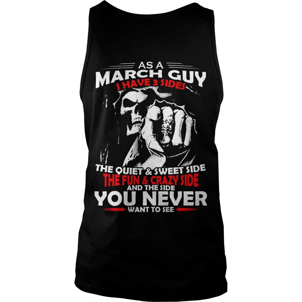 March Guy 3 Sides Unisex Tank Tôp