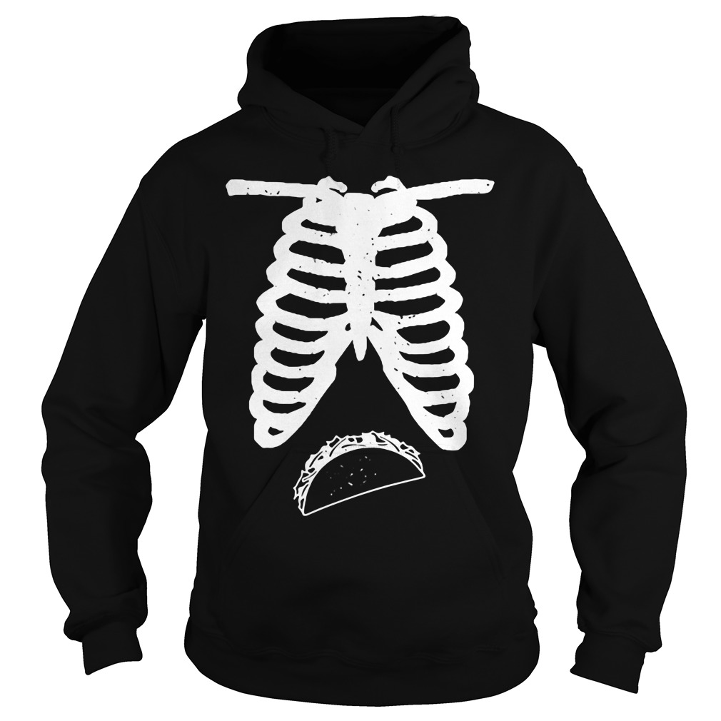 Maternity Funny Halloween Couples Hoodie