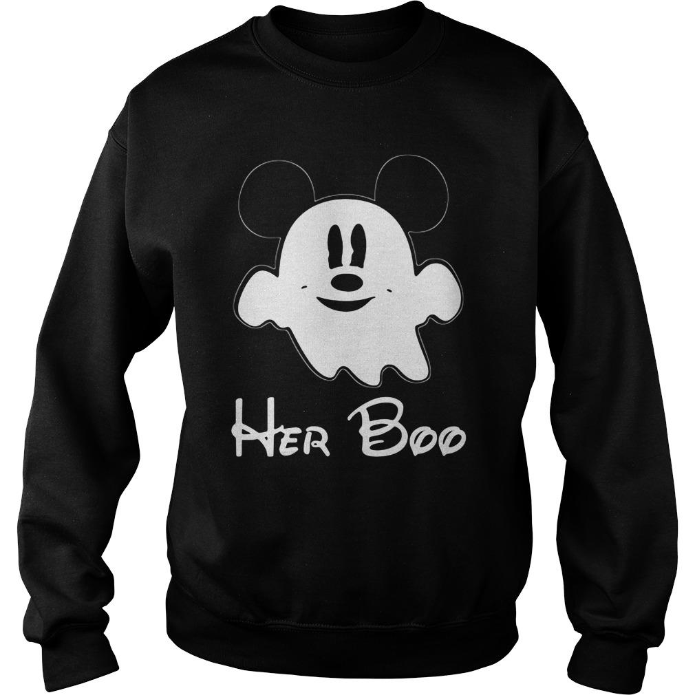 Mickey Mouse Boo Halloween Sweat Shirt