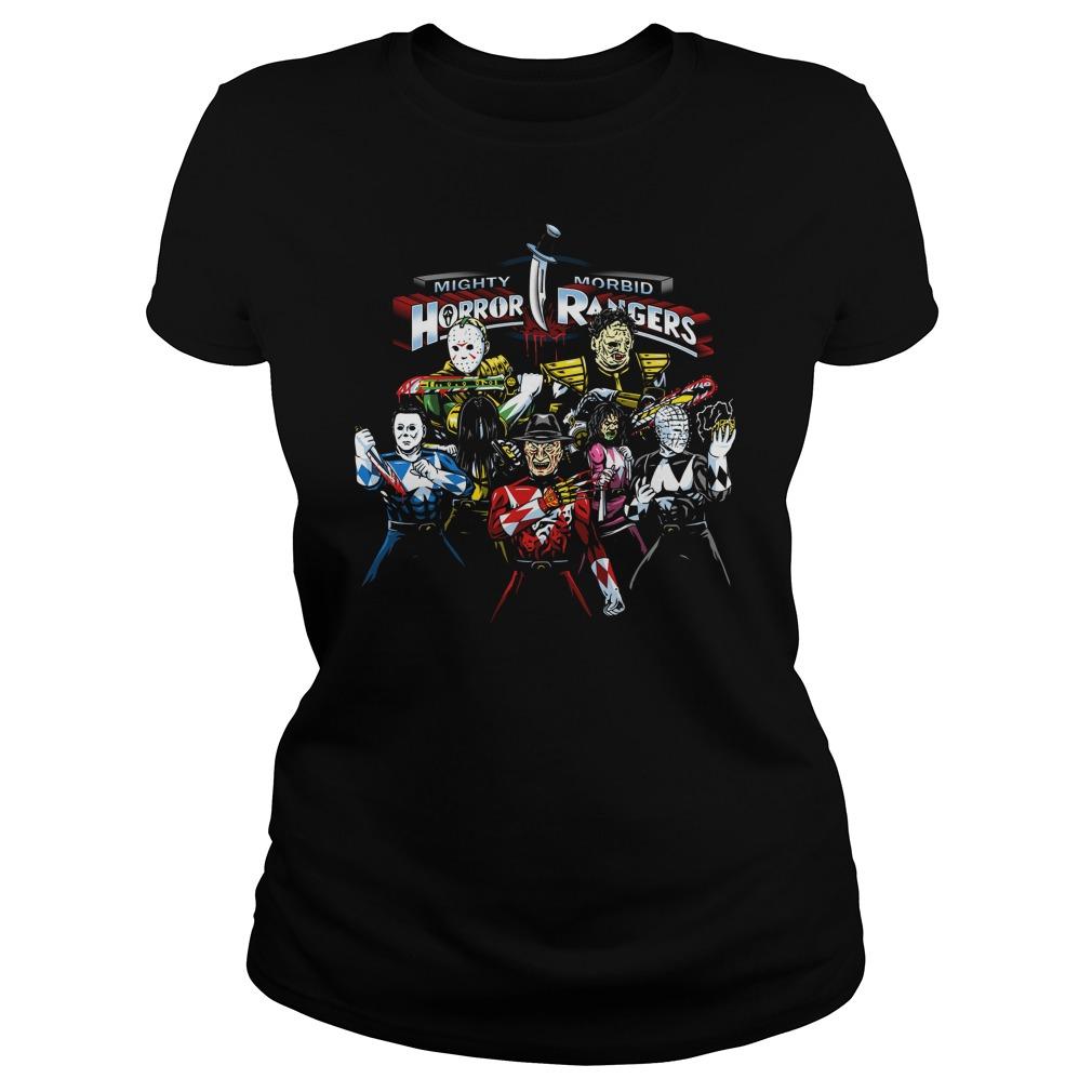 Mighty Morbid Horror Rangers Shirt Hoodie Sweater