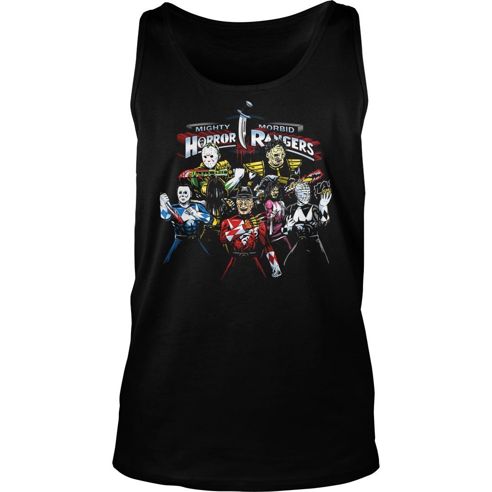Mighty Morbid Horror Rangers Unisex Tank Top