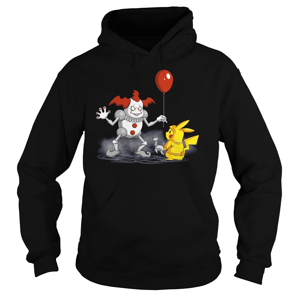 Mr It And Pikachu Hoodie