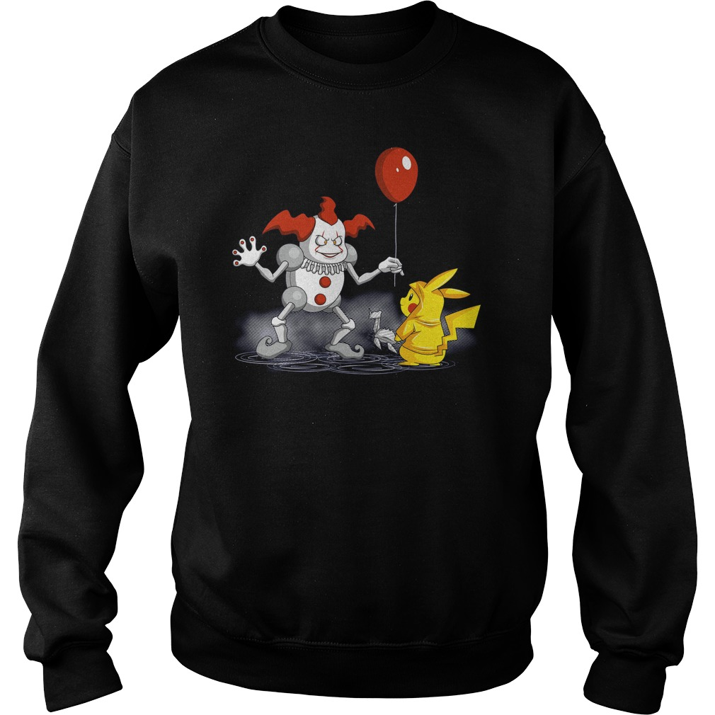 Mr It And Pikachu Sweat Shirt