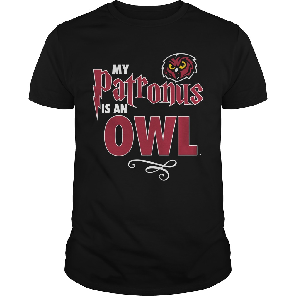 My Patronus Is Temple Owls Guys Tee