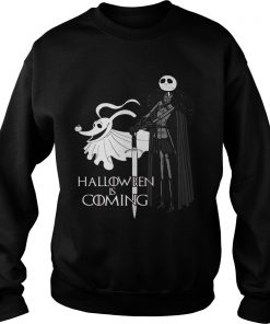 Nightmare Christmas Halloween Coming Sweat Shirt