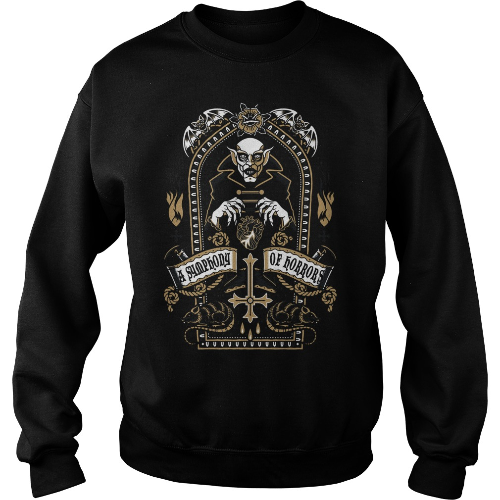 Nosferatu Symphony Horrors Sweat Shirt