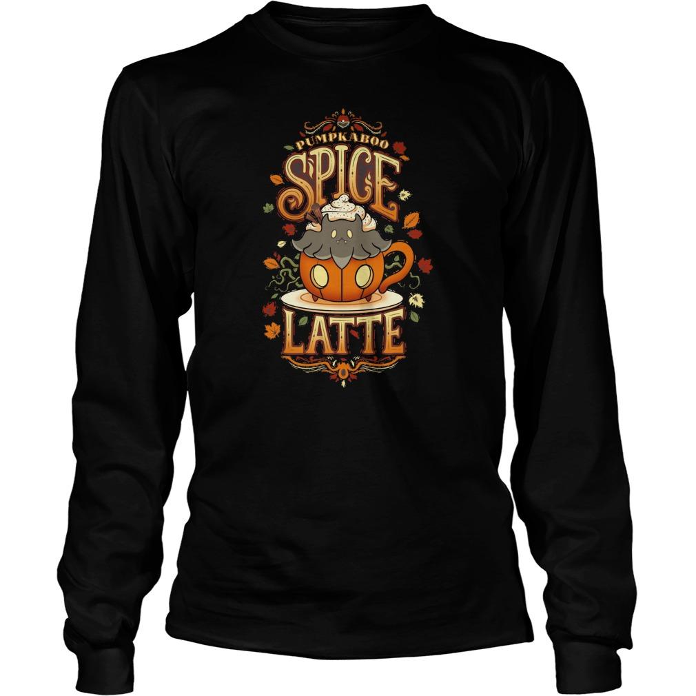 1d1cfdb75 Pokemon Pumpkaboo With Spooky Spice Latte Shirt, Hoodie, Sweater ...