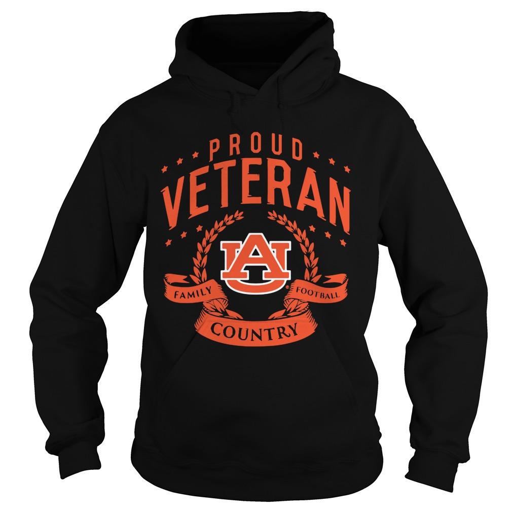Proud Veteran Auburn Hoodie