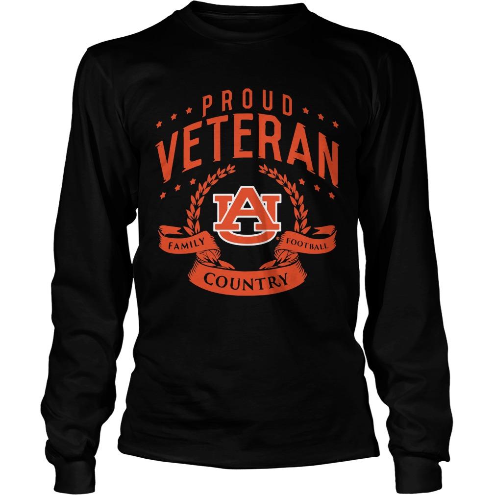Proud Veteran Auburn Longsleeve