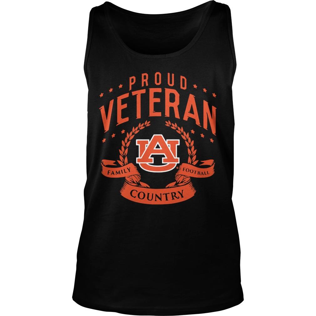 Proud Veteran Auburn Tank Top