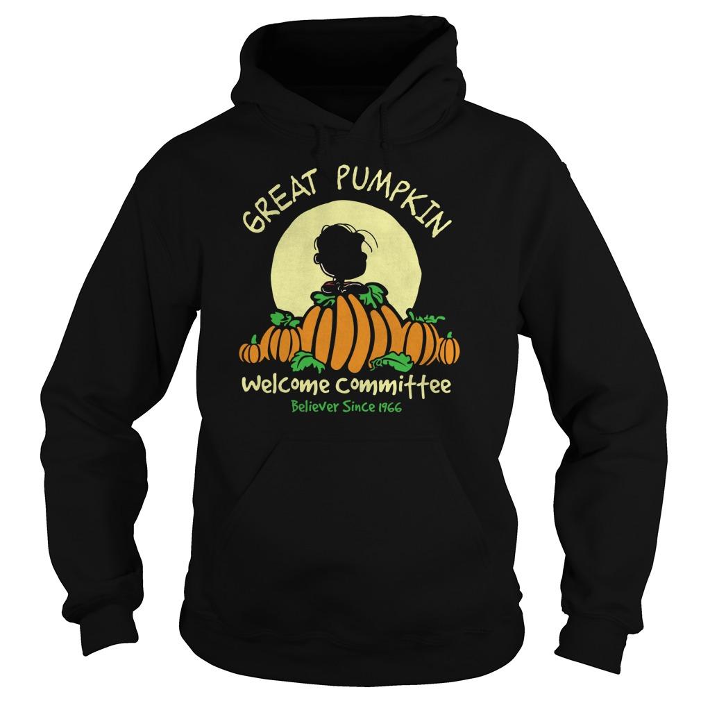 Pumpkin Welcome Believer Since 1966 Hoodie