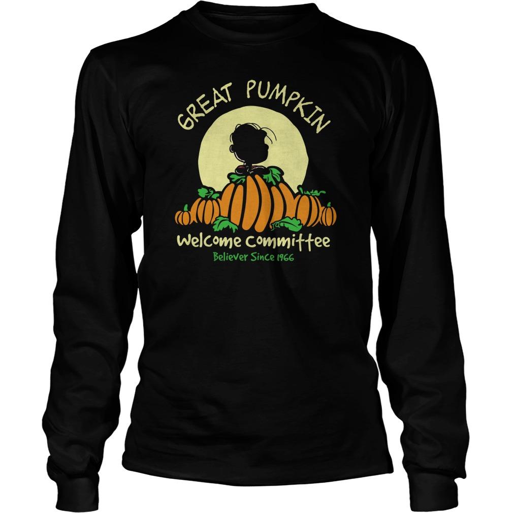 Pumpkin Welcome Believer Since 1966 Longsleeve