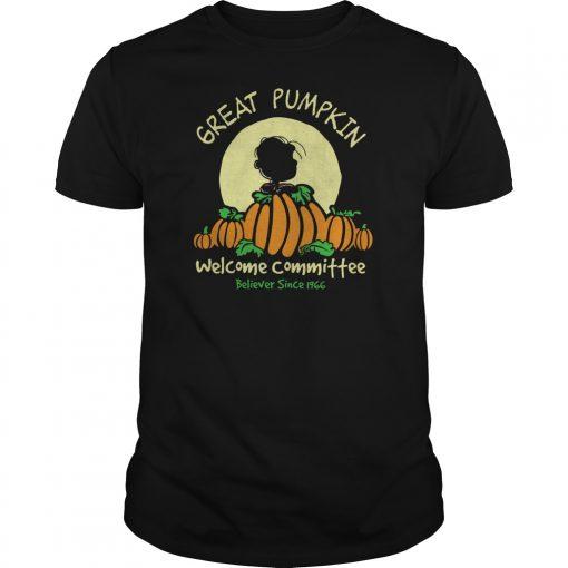 Pumpkin Welcome Believer Since 1966 Shirt