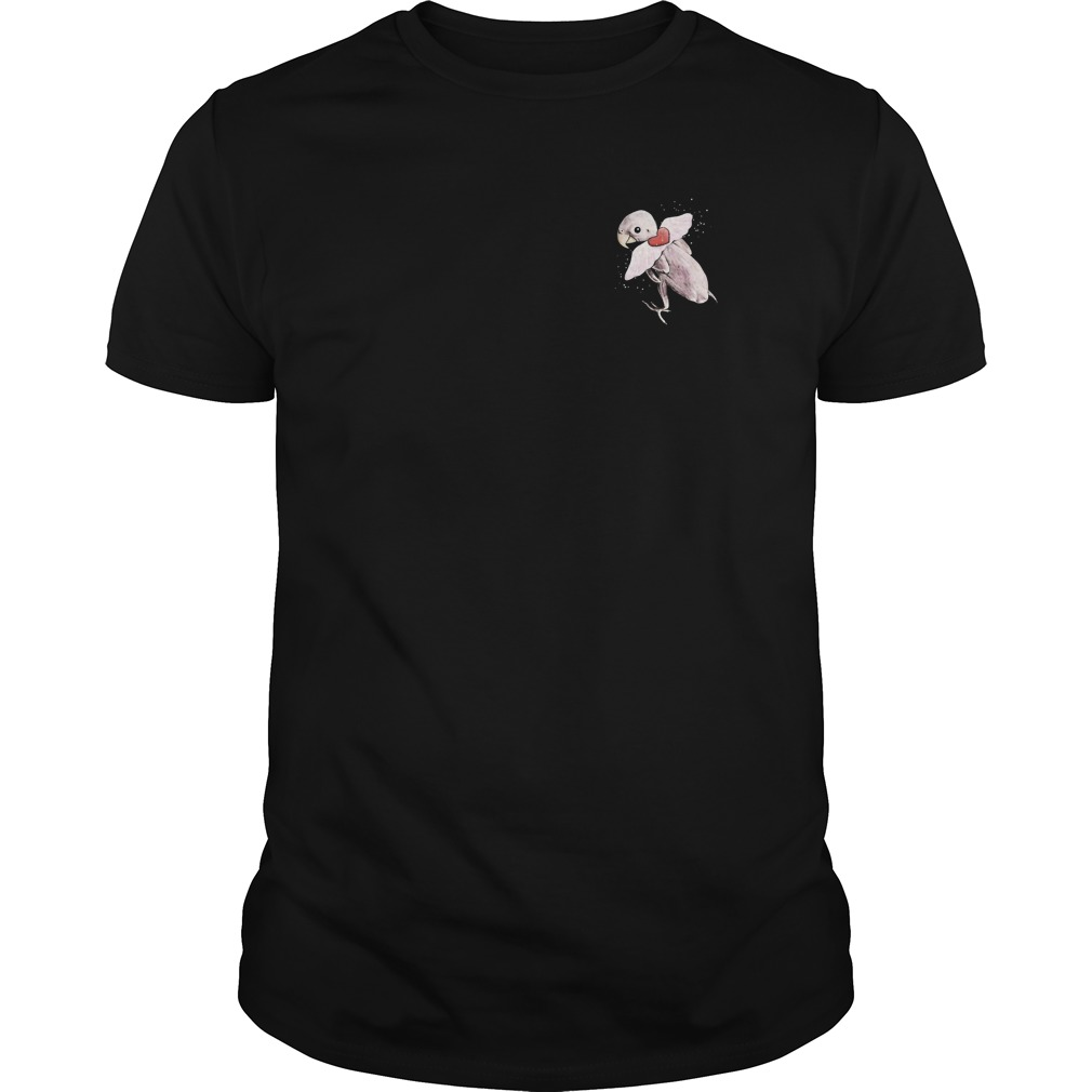 Rhea The Naked Birdie Flying Free Guys Tee