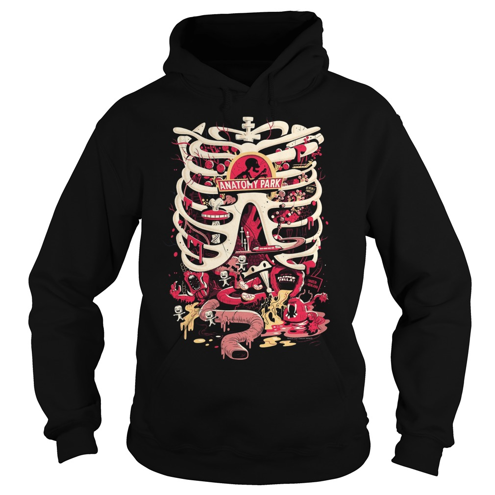 Rick And Morty Anatomy Park Scary Halloween Shirt Hoodie Sweater T