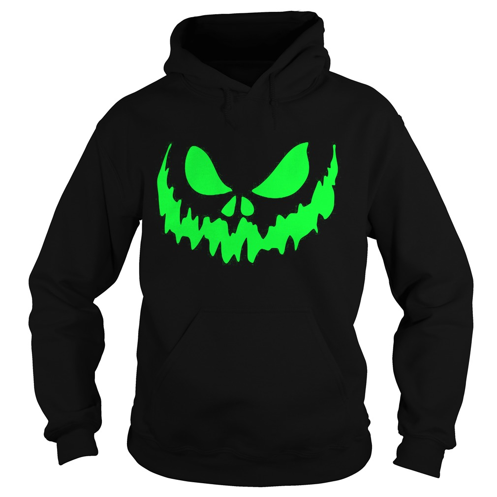 Scary Face Halloween Hoodie