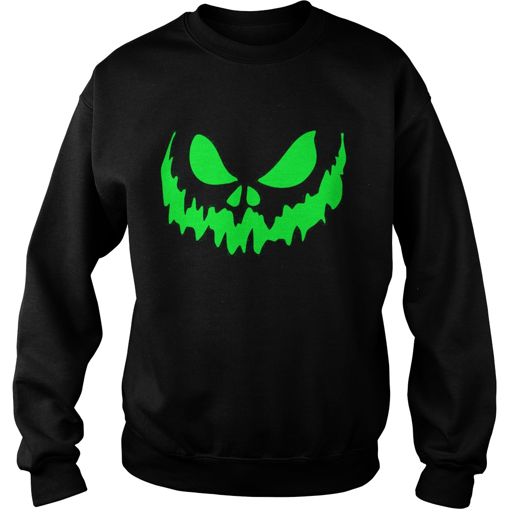 Scary Face Halloween Sweat Shirt