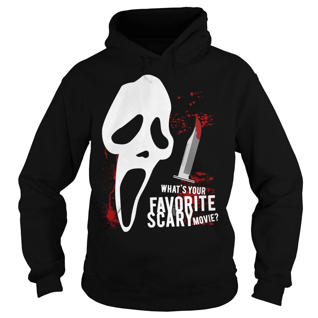 Scream Favorite Scary Movie Hoodie