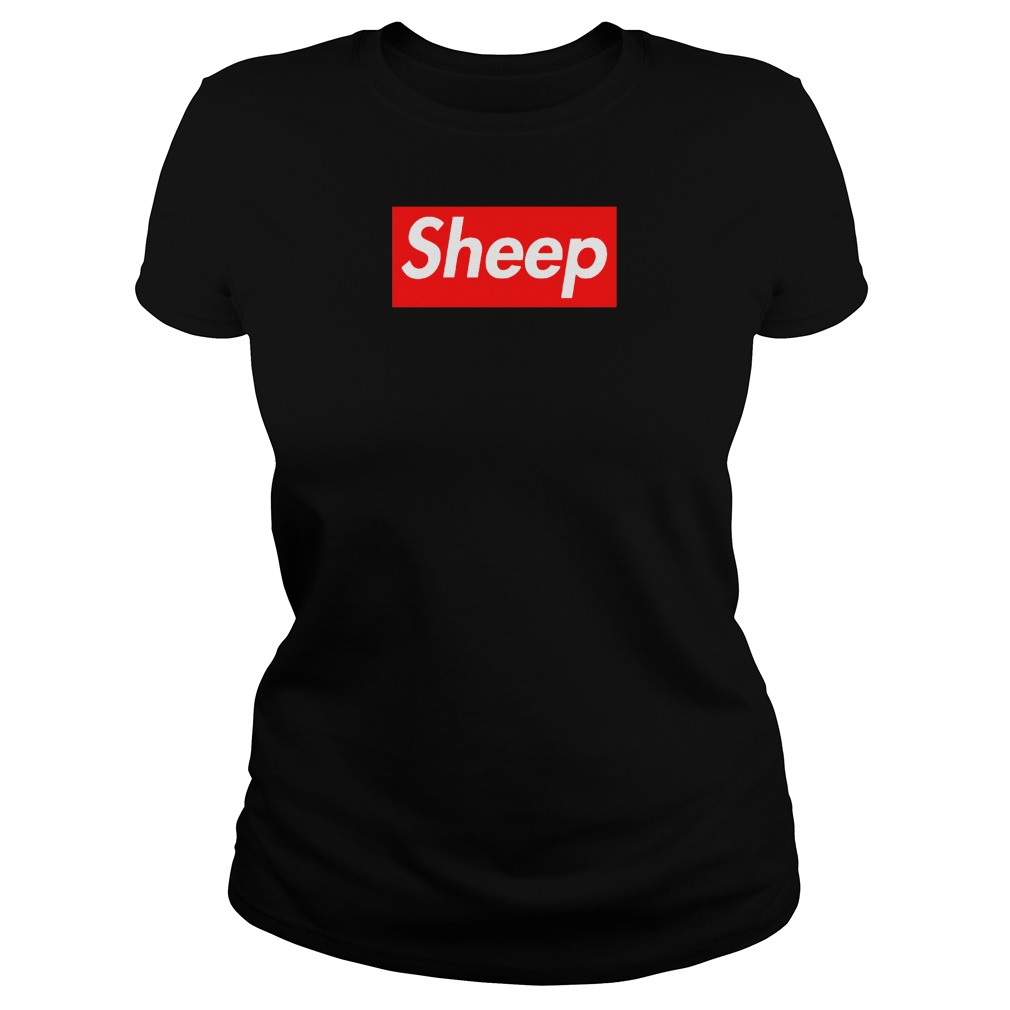 Sheep Idubbbz Merch Supreme Ladies Tee