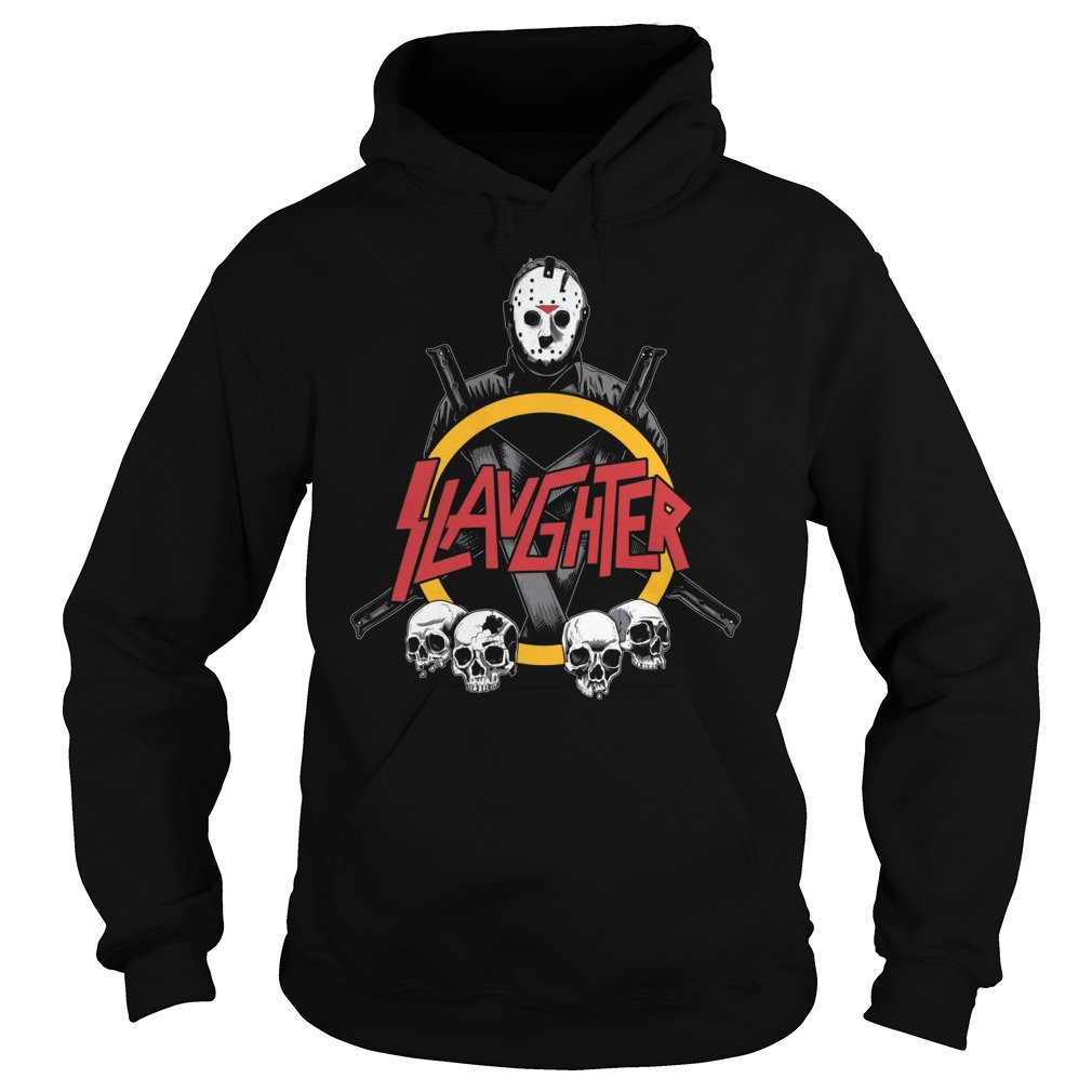 Slaughter Man Friday 13th Hoodie