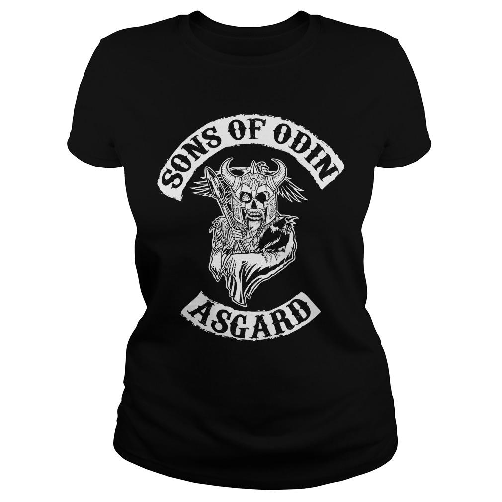 Sons Odin Asgard Ladies Tee