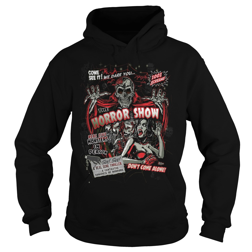 Spook Show Horror Movie Monsters Hoodie