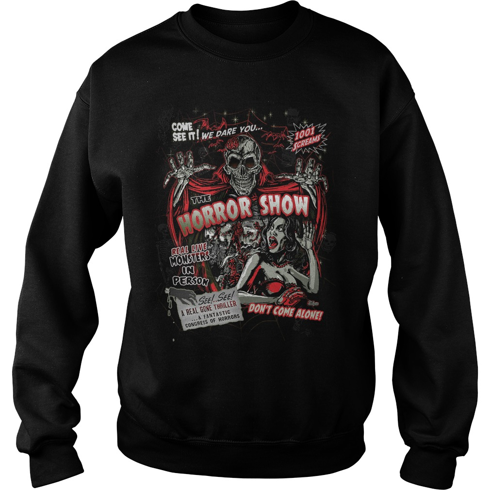Spook Show Horror Movie Monsters Sweat Shirt