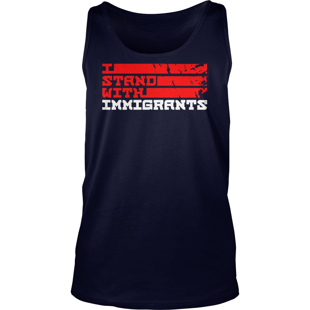 Stand Immigrants Tank Top