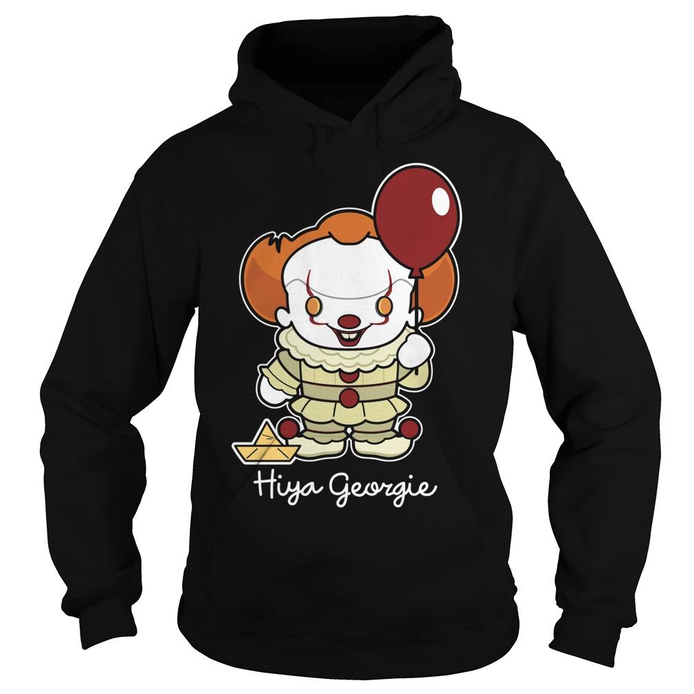 Stephen King Hiya Georgie Hoodie
