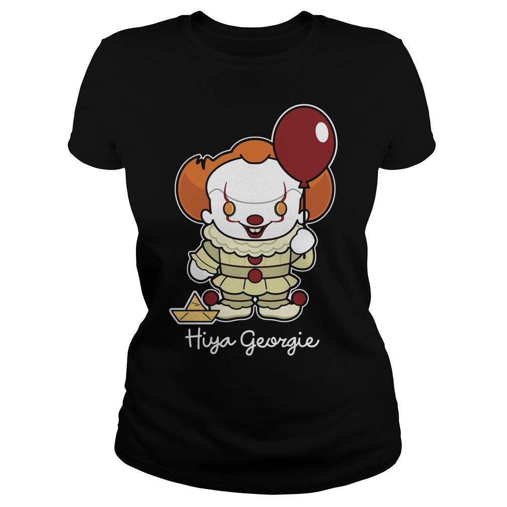 Stephen King Hiya Georgie Ladies Tee