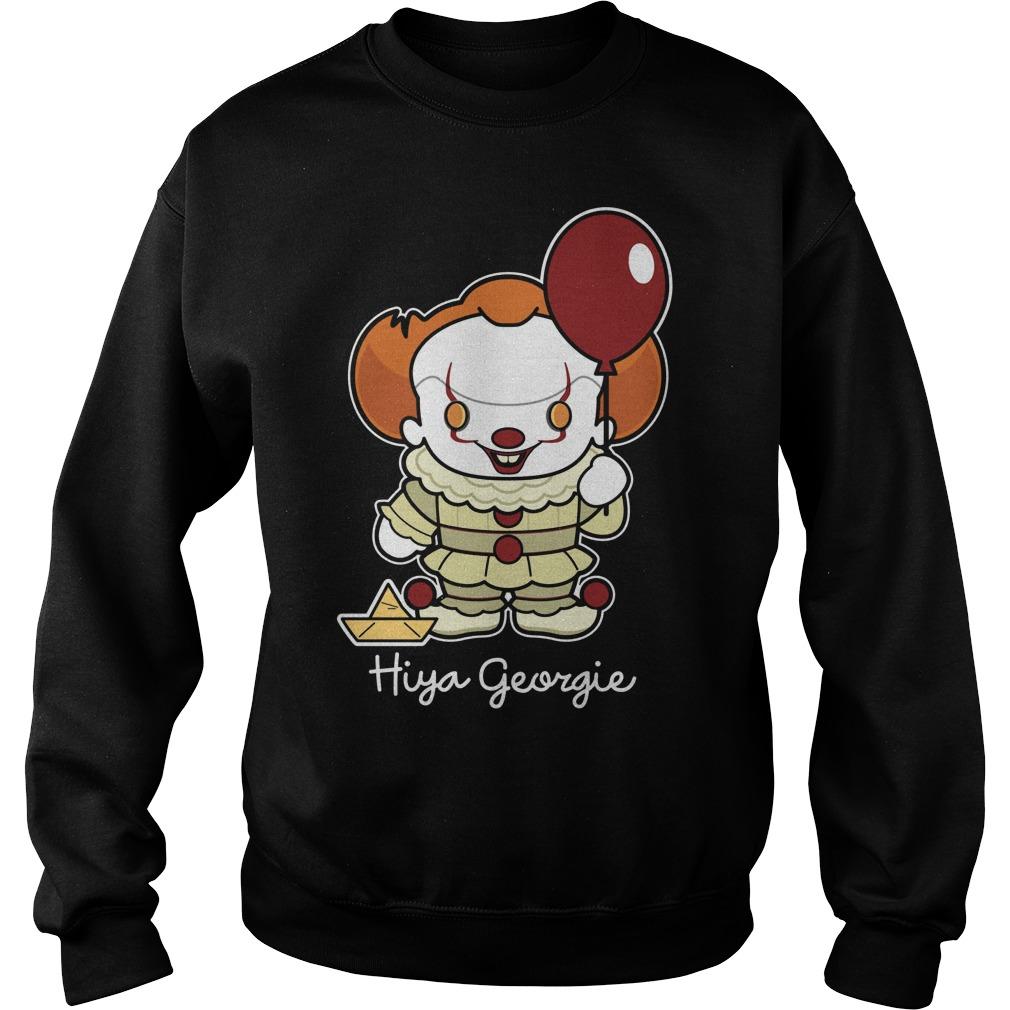 Stephen King Hiya Georgie Sweat Shirt