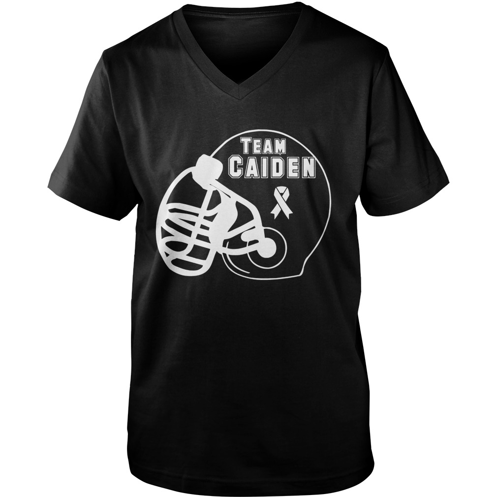 Team Caiden V Neck