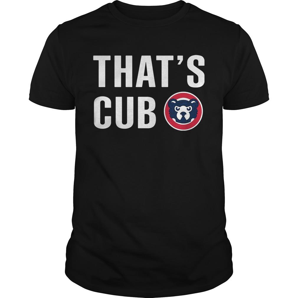 Thats Cub Cub Guys Tee