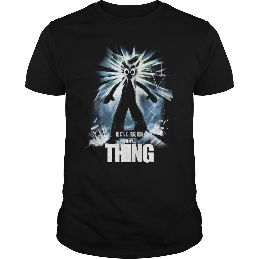 The Any Thing He Can Change Into Anything Guys Tee
