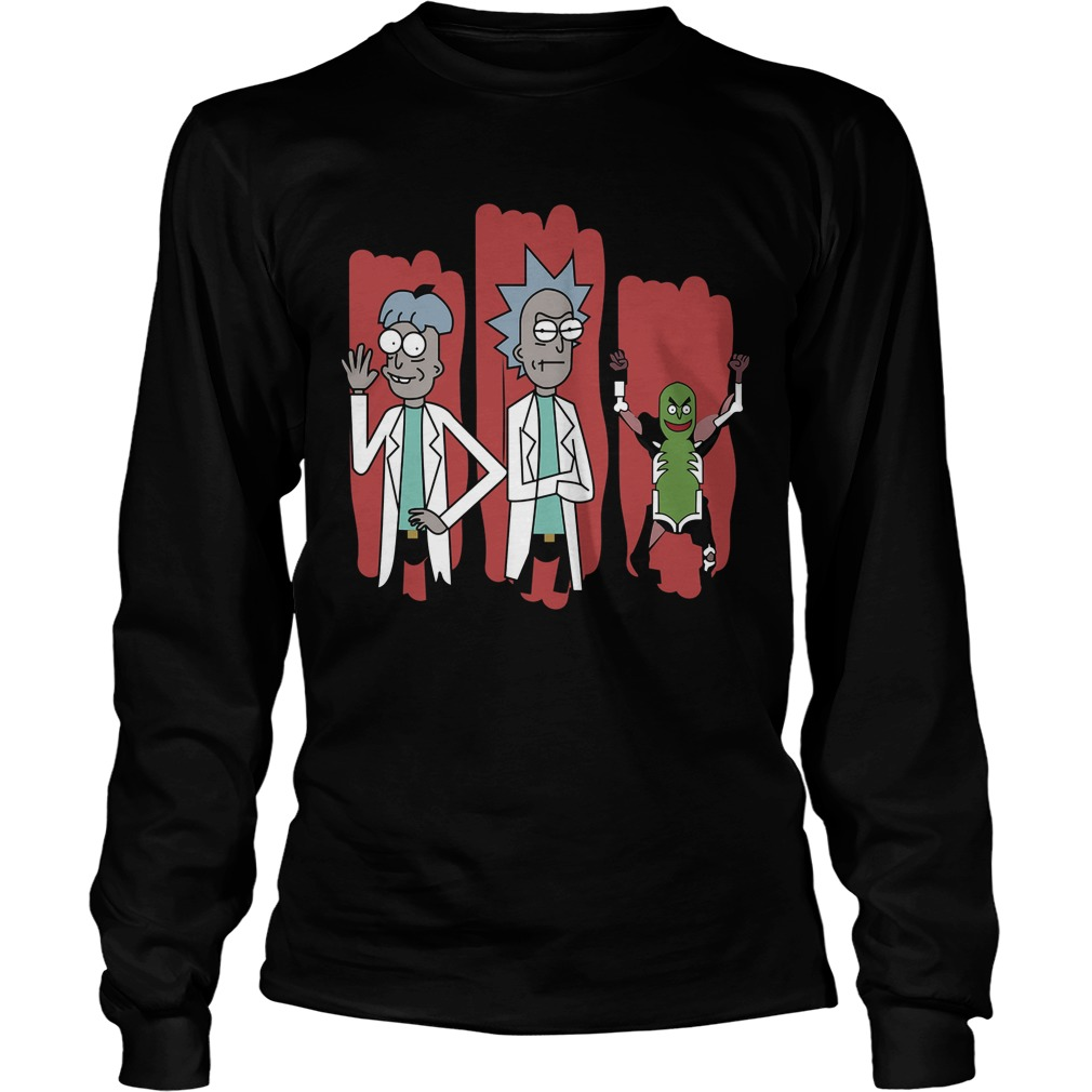 The Good The Bad And The Pickle Rick Longsleeve