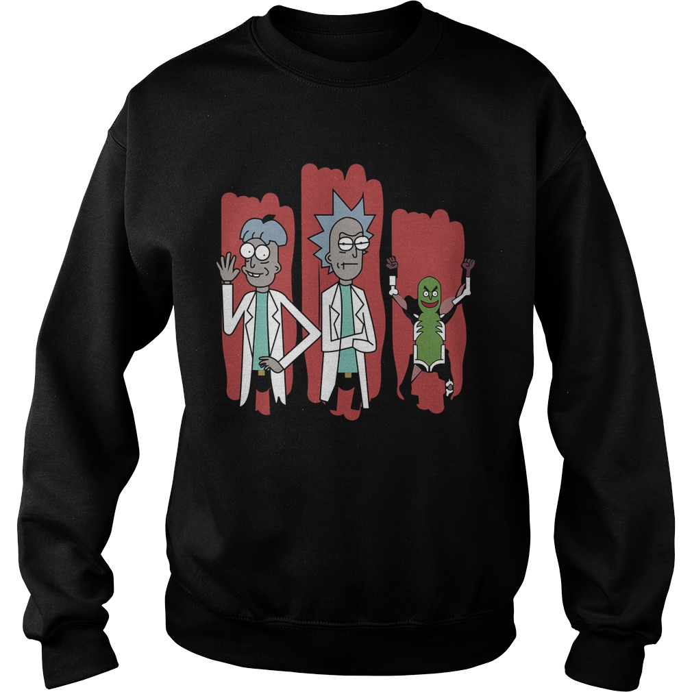 The Good The Bad And The Pickle Rick Sweat Shirt