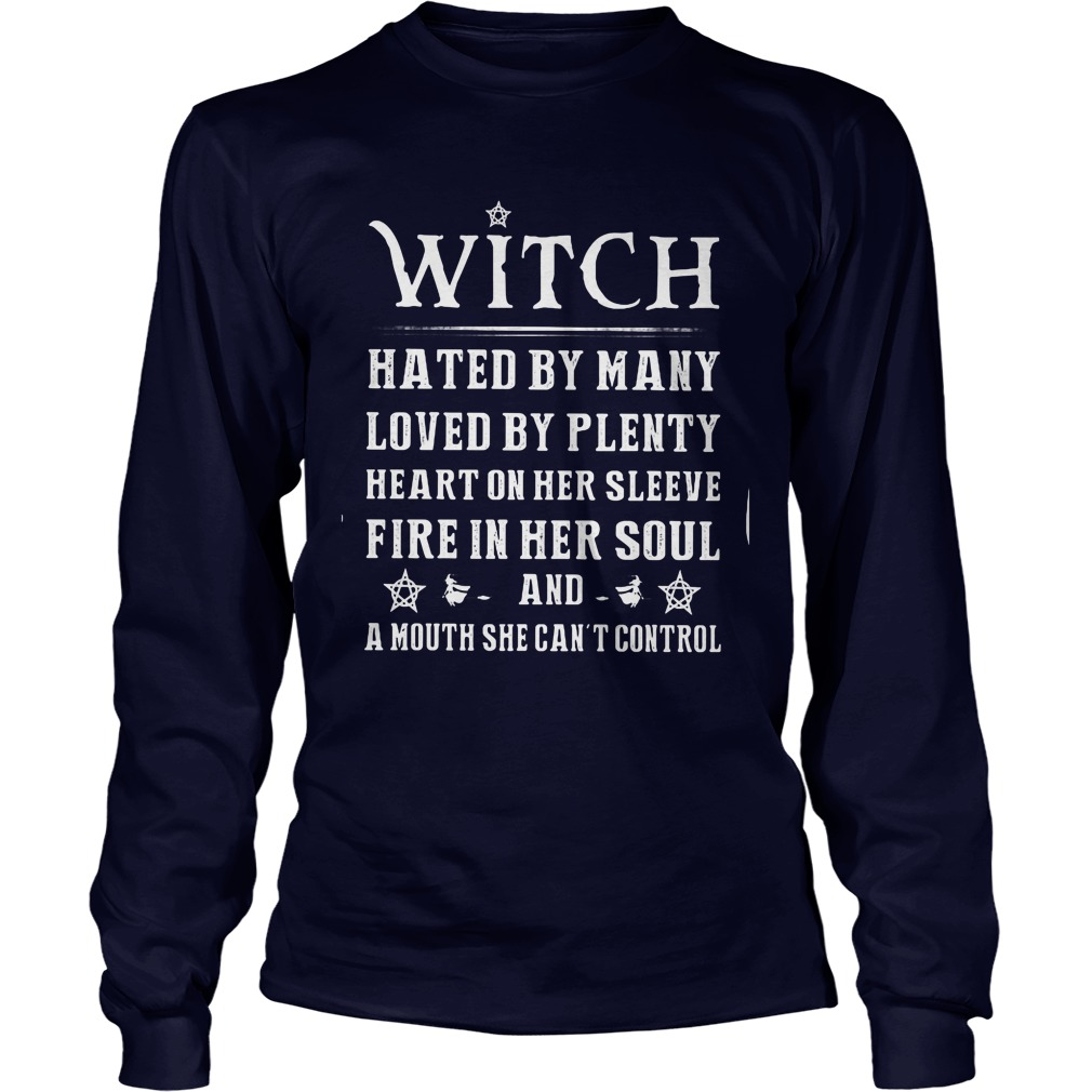 Witch Hated Many Love Plenty Longsleeve