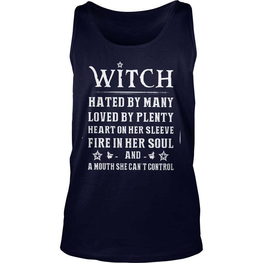Witch Hated Many Love Plenty Tank Top