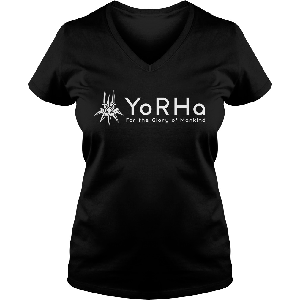 Yorha Flory Mankind Ladies V Neck