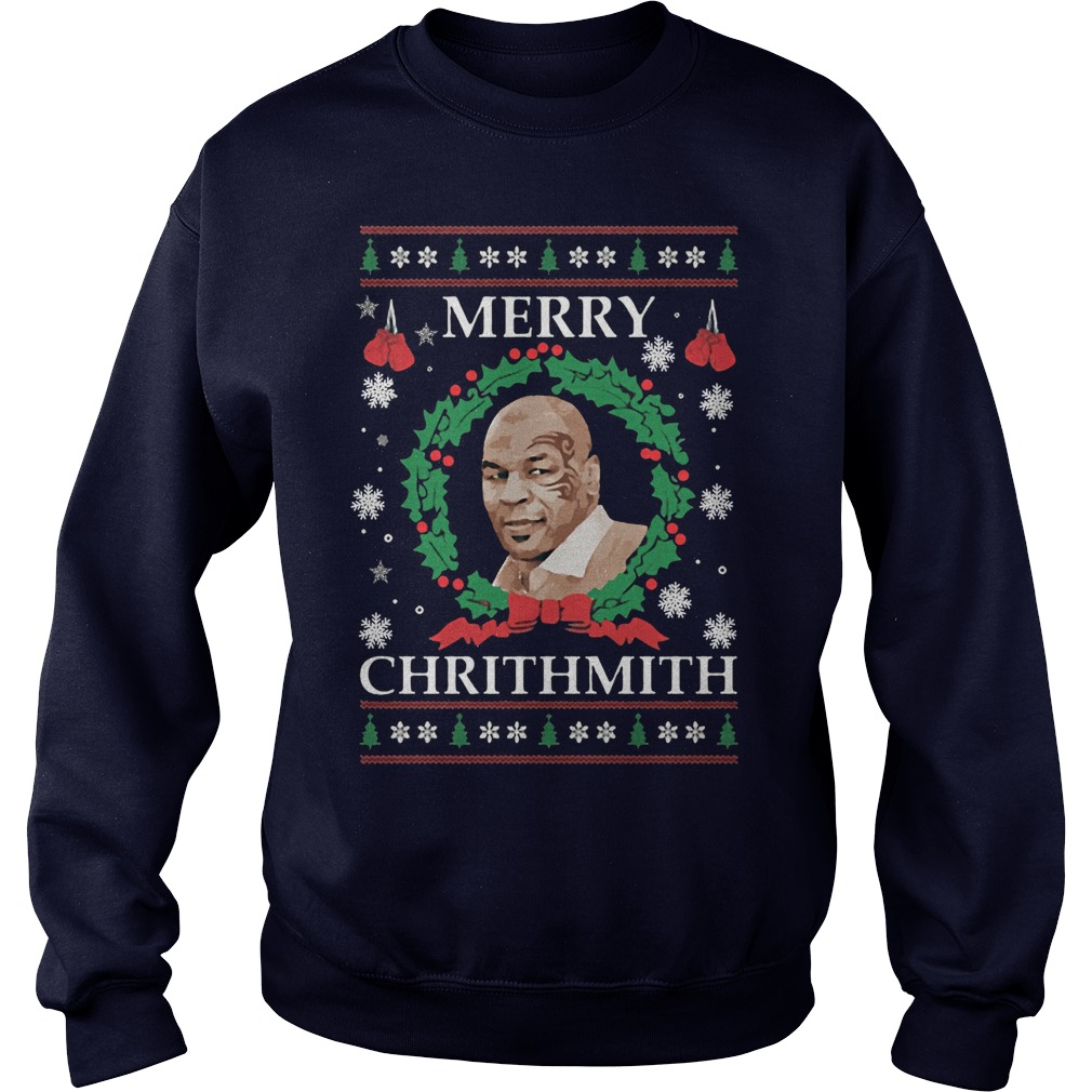 2017 Merry Chrithmith Mike Tyson Ugly Christmas Sweater
