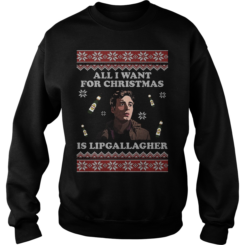 All I Want For Christmas Is Lipgallagher Sweater