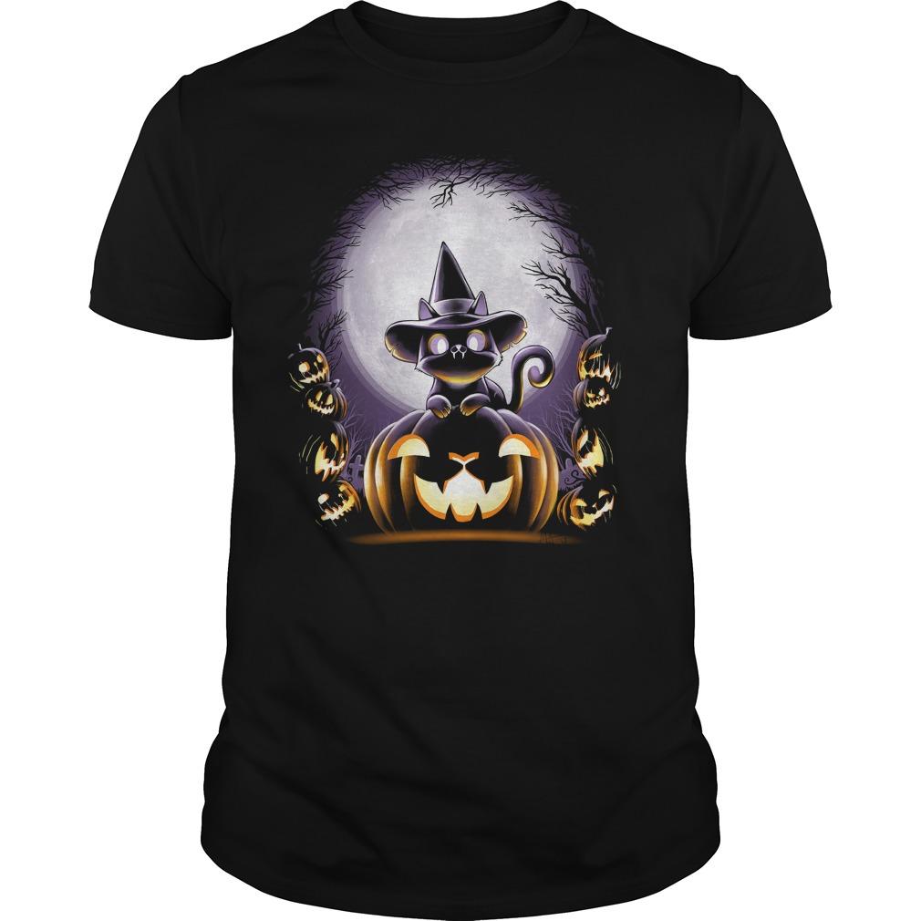 Witch Cat Night Shirt